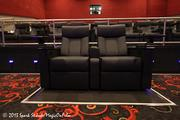 The project features king-size recliners and padded footrests for moviegoers in an exclusive 21-plus environment.