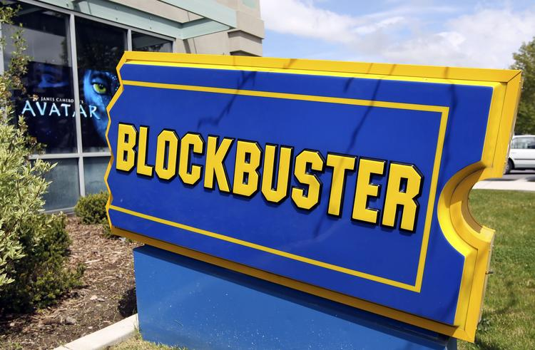 Blockbuster said it would close its remaining retail stores and focus on its on-demand video service.