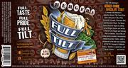 The label for Full Tilt Brewing's new Berger Cookie Chocolate Stout.