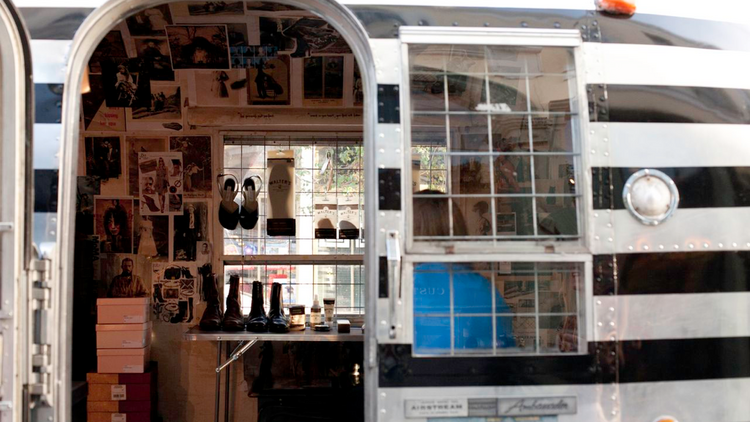 Between May 2011 and May 2013, Lewis had built a successful, high-end footwear business in an airstream trailer on South Congress Avenue. After she hit about six figures in annual sales, city regulators shut her down for not meeting code requirements.