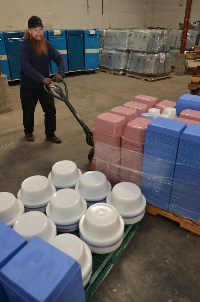 Providence has its own recycling center that serves eight statewide hospitals.