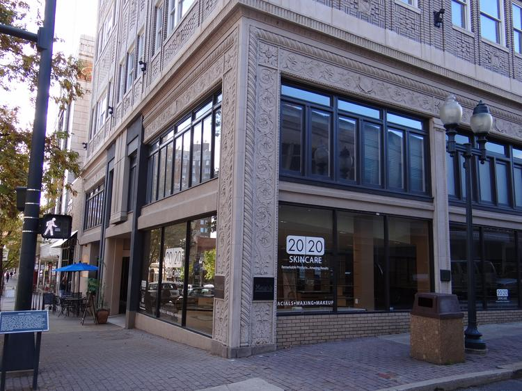 Pictured here is the downtown Greensboro location where Gerbing's Heated Clothing planned to locate its headquarters. But city officials said the company is not going to accept $150,000 worth of incentives to expand.