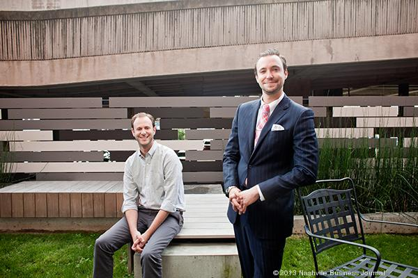 Benjamin Goldberg, left, and brother Max are co-owners of Strategic Hospitality.