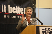 Portland Public Schools Superintendent Carole Smith. The Read Big partnership includes the six Portland-area public school districts, the Multnomah County Library system and organizations such as Portland nonprofits Start Making a Reader Today and All Hands Raised.