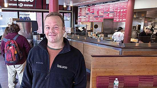 Boloco CEO John Pepper is stepping down.