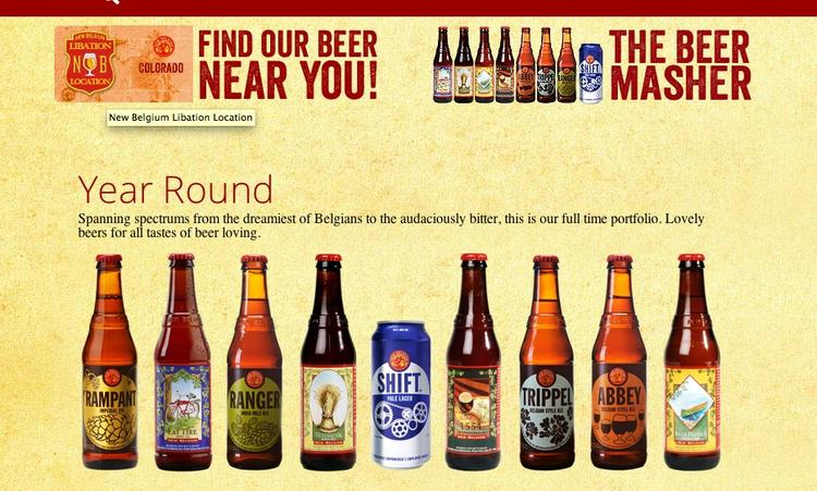 New Belgium Brewing will be on shelves here in December.
