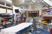 An older patient area at Shock Trauma.