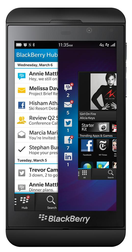 Disappointing sales of BlackBerry Ltd.'s Z10 smartphone drove the company to a nearly $1 billion loss in the second quarter. Things are so bad, the company may exit the phone business altogether to focus on software.