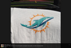 Miami Dolphins players embrace new team logo