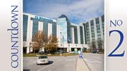 No. 2: OhioHealth Riverside Methodist Hospital Total emergency visits: 89,739 Admitted to hospital: 37%