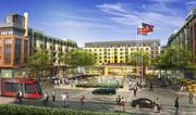 The Parks at Walter Reed development will feature a retail center with a grocery store.