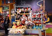 A Disney merchandise display? This is Orlando. You can find this at a 7-Eleven.