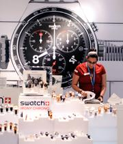 This Swatch counter is something you don't see in an airport setting. Which makes this a super easy pick. Right?