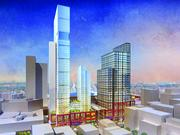Artist rendering of the 45-story tower proposed for the TD Garden site.