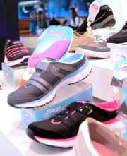 A Skechers display worthy of any retail setting in any location