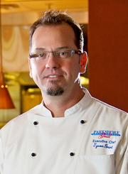 Tyson Grant, executive chef of Parkshore Grill in downtown St. Petersburg