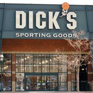 Dick's Sporting Goods (NYSE: DKS).