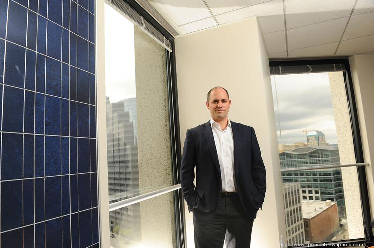 Nat Kreamer led rapid growth at Clean Power Finance from 26 employees in 2011 to nearly 180 now.