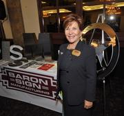 Sandra Foland, CEO of Baron Sign of Riviera Beach, had an array of signs for businesses to provide better images and way finding for customers.