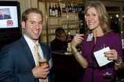 Deloitte's Sean McLaughlin and Susan Esper claimed it was okay they socialized at the Boston Business Journal's Power 50 event as they are from different departments.