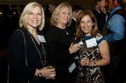 They work together and hang out together: Debi Benoit, Sheryl Simon and Amy Mizner of Benoit Mizner Simon & Company at the Boston Business Journal's Power 50 event at the Boston Harbor Hotel.