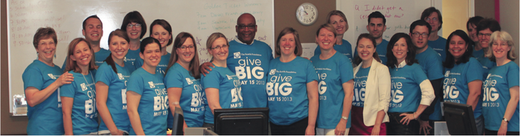 Staffers from the Seattle Foundation raised $11.1 million during the 2013 GiveBIG online fund-raising event. The foundation has sponsored the event since 2011.