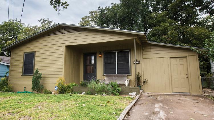 Single family homes like this one are rapidly escaping the realm of affordability for many Austinites. Will lowering occupancy limits to fight stealth dorms in Austin drive the price of rental housing up?