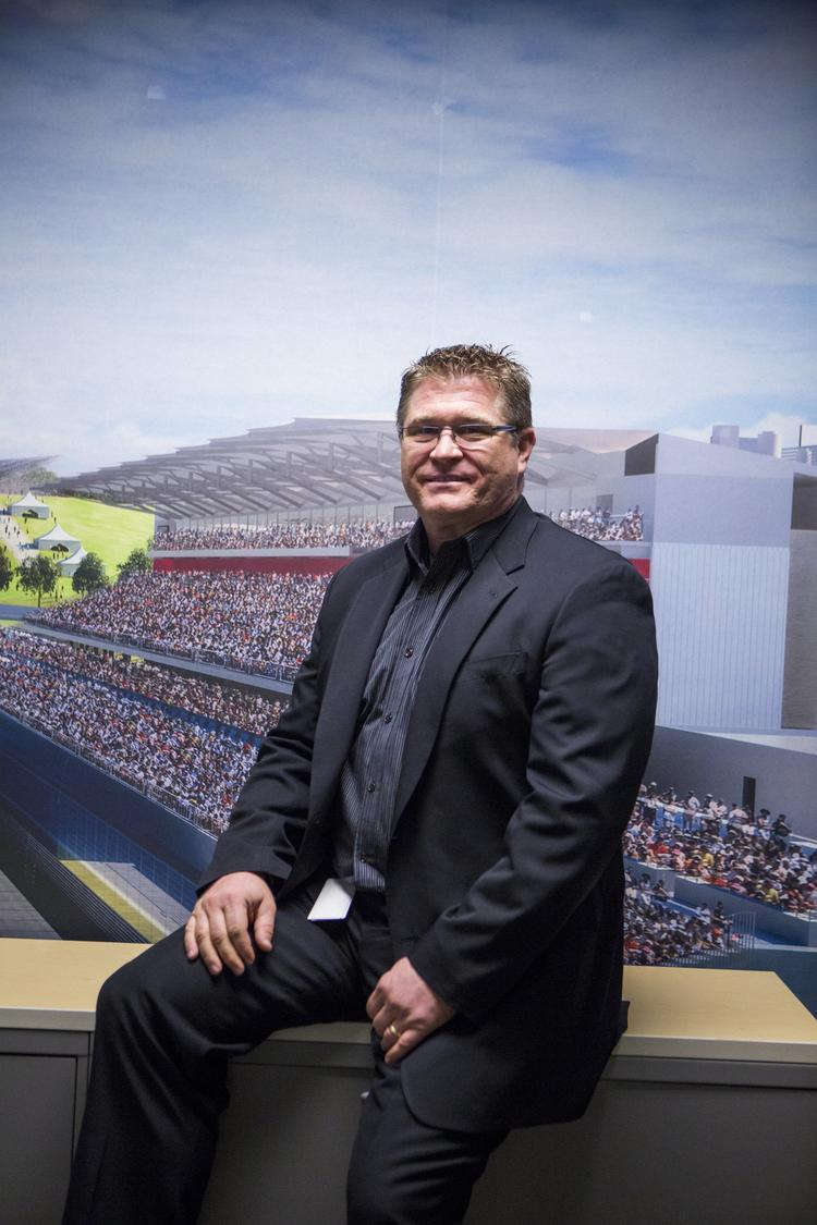 Jason Dial is president of Circuit of The Americas.