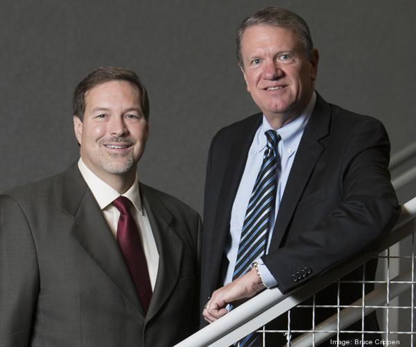 Accounting firms Barnes Dennig and Bertke, Sparks & Kremer are combining. George Sparks, left, is a principal with Bertke, Sparks & Kremer. Steve Hube is managing director of Barnes Dennig.