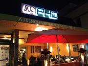 A pho joint on the ritzy corner of Beverly Drive and little Santa Monica -- one of the four locations of 9021PHO