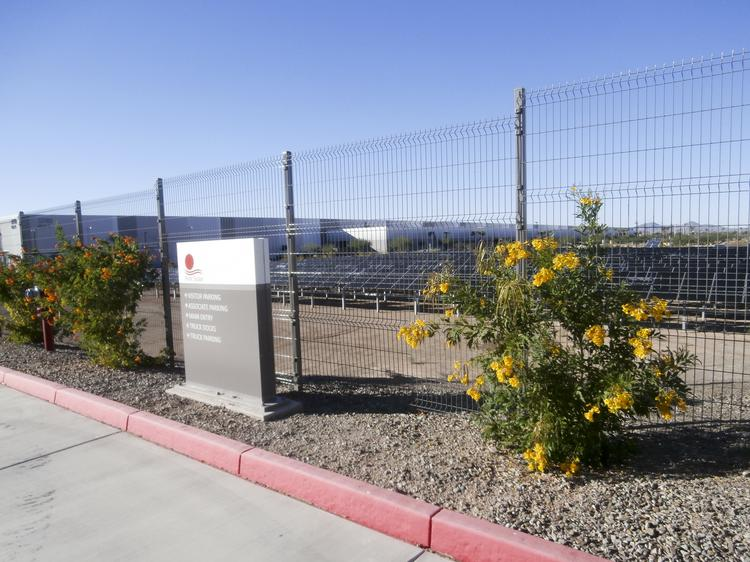 First Solar Inc. has sold its Mesa factory to Apple Inc. It will be converted into a glass manufacturing facility.