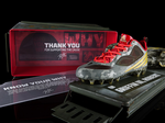 RGIII honors veterans with first signature cleat
