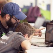 About 80 local youth and their parents recently attended the San Antonio Youth CodeJam — where kids ages 7-15 play games that teach the basics of coding and computer programming.