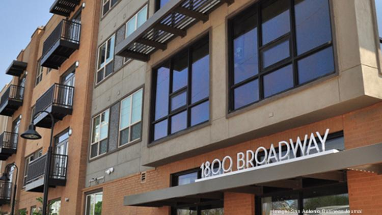 1800 Broadway Is Part Of The Flood New Apartment Complexes Being Developed In San Antonio
