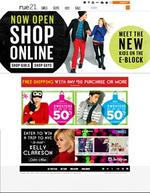 Rue21 launches online shopping site