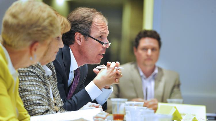 Robert Stolz chairs the state-created Charlotte Airport Commission, which has held meetings but has had no decision-making power while the city continues to run CLT.