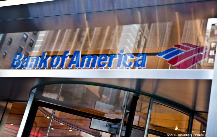 Bank of America is closing hundreds of bank branches as it trims its footprint.
