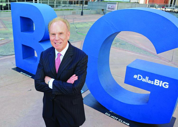 Jones Lang LaSalle's Roger Staubach says the Dallas convention business is important to growing the retail industry in North Texas.