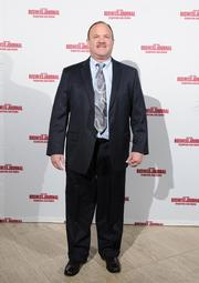 Tim Dressman of St. Leonard on the red carpet at the Dayton Business Journal's Business of the Year event.