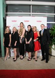 The Shumsky team on the red carpet at the Dayton Business Journal's Business of the Year event.