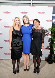 Lori Spencer, Nicolette Jett and Beth Grubb with Battelle & Battelle on the red carpet at the Dayton Business Journal's Business of the Year event.