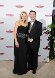 Nancy and Kevin Robie on the red carpet at the Dayton Business Journal's Business of the Year event.
