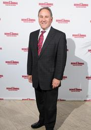 Larry Klaban of Morris Home Furnishings on the red carpet at the Dayton Business Journal's Business of the Year event.