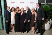 The Fred J. Miller team on the red carpet at the Dayton Business Journal's Business of the Year event.