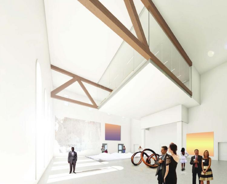 The Institute for Contemporary Expression has been picked to transform the Franklin School into a contemporary arts, performance and educational venue.