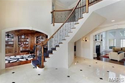 11223 Hunters Pond Road: The foyer features marble.