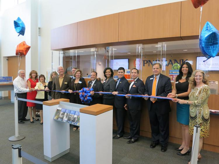 Tampa's first Green Branch for PNC Bank.