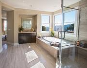 A bathroom in the model for the Orinda Oaks project.