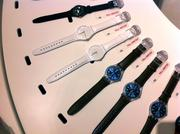 The latest collection of adult Swatch brand watches retail for $50 to $250.