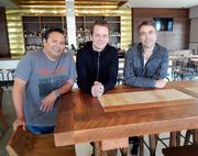 Sabrosa owners (from left to right) Hugo Gamboa, Adam Snyder and Andy Wasserman.